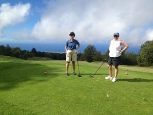 golf in the clouds